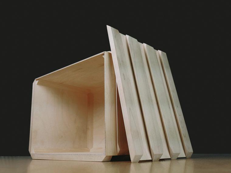 k hlbox aus holz ohne styropor und strom die woobox. Black Bedroom Furniture Sets. Home Design Ideas