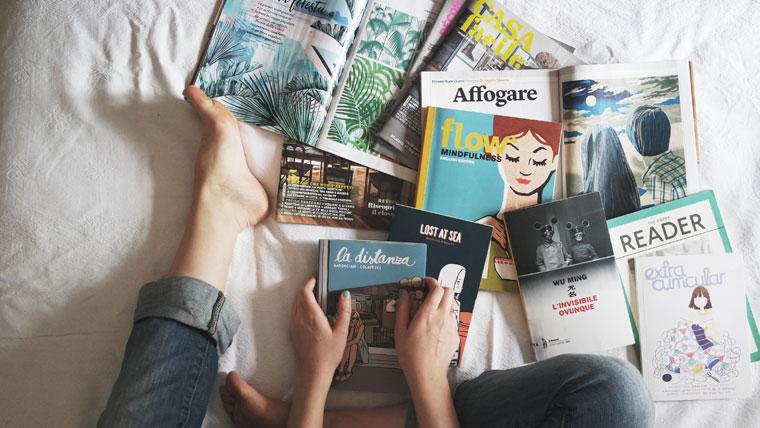 Zeitschriften entrümpeln
