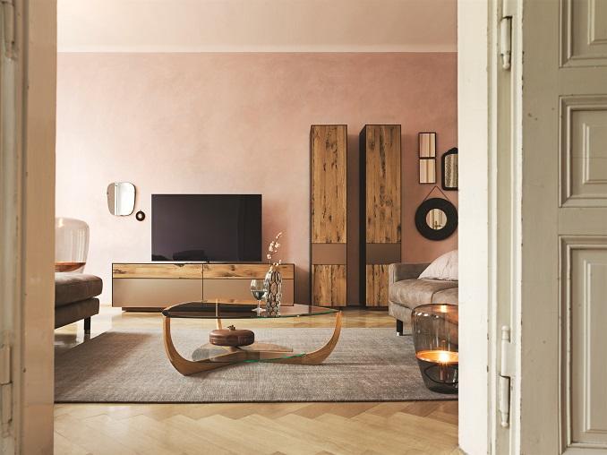 Wohnzimmer aus Naturholz ©TEAM 7