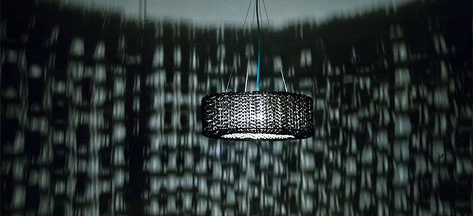 Ein wohl einzigartiges Lichtbild macht diese tolle Lampe von © lolopalazzo