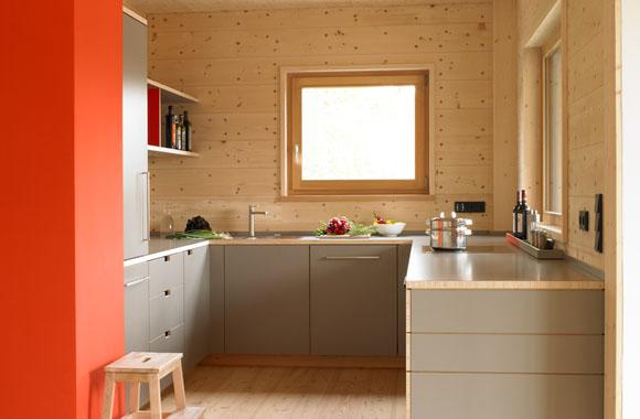 Holzhaus für Mehrgenerationen in München