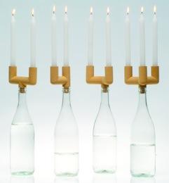 ?Castiçais?- Kerzenhalter und Verschluss in einem Einem. ©Susdesign