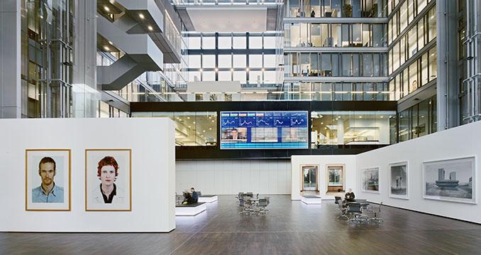 Das Gebäude der Deutschen Börse in Frankfurt am Main ist Gewinner der Kategorie Bürogebäude und Neubau. Foto: © Jean-Luc Valentin