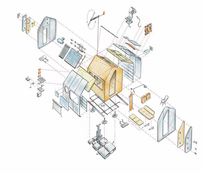 Bauplan: Diogene Vitra