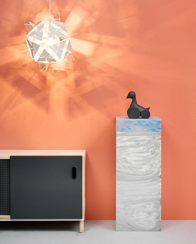 Ein würdiges Plätzchen für die stylische Ente © Normann Copenhagen