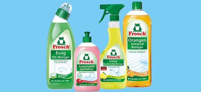 Frosch ist vertrauensvollste Marke © Frosch/ Werner & Mertz