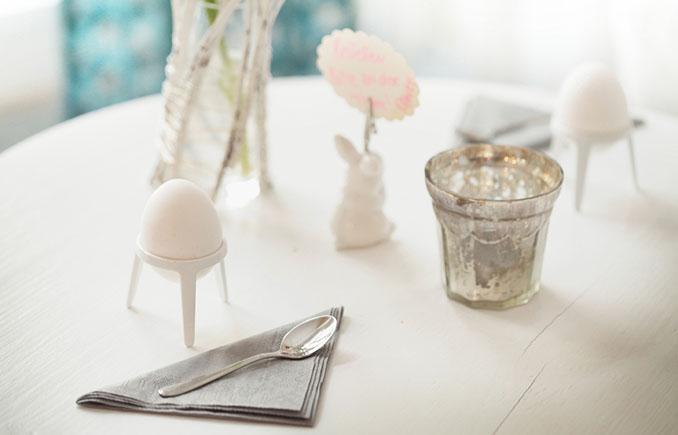 Schlicht und elegant in der Modefarbe Eierschale © Produkte und Gestaltung