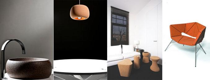 Möbel aus Kork