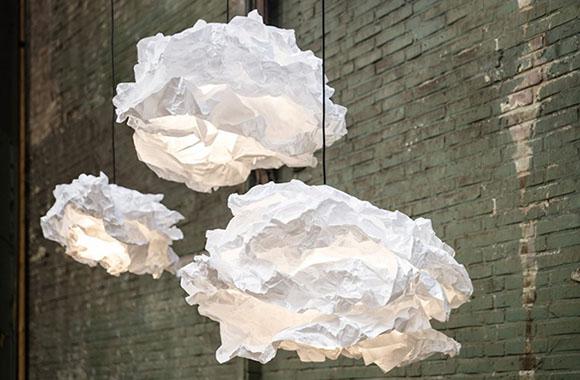 Lampen aus Papier biologisch abbaubar