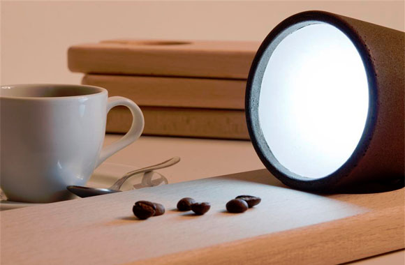 Lampen aus Kaffeesatz