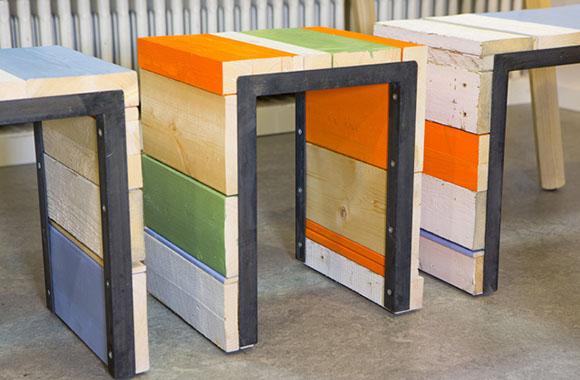Upcycling Möbel-Designs für die Wohnung