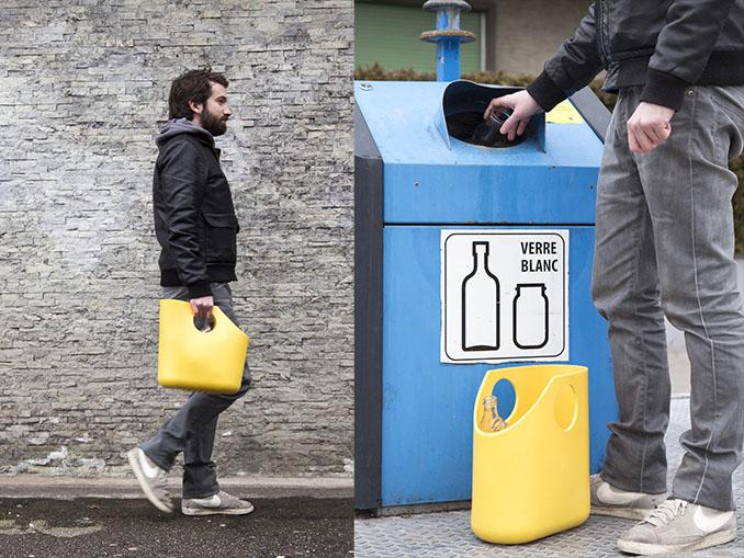 Zupacken, rausgehen, wegwerfen. Jegliche Klappen fehlen und ersparen so auch eine Menge Arbeit © Jean Luc Andrianasolo