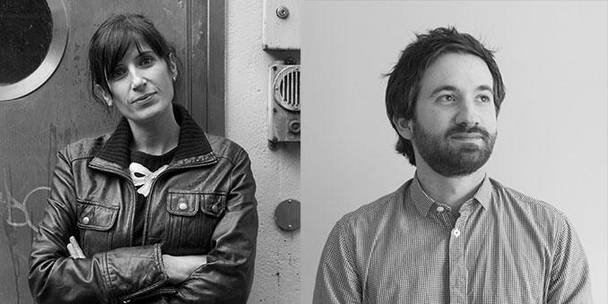 Die Entwickler des Projekts Anne Carrard und Julien Garnier © Jean Luc Andrianasolo