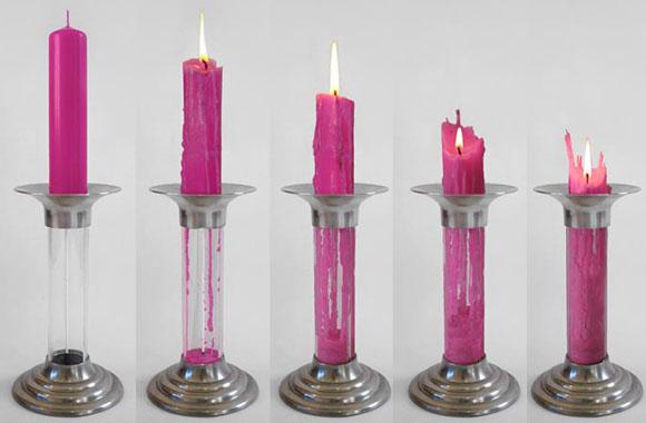 Perpetua Candela: Die selbstrecycelnde Kerze