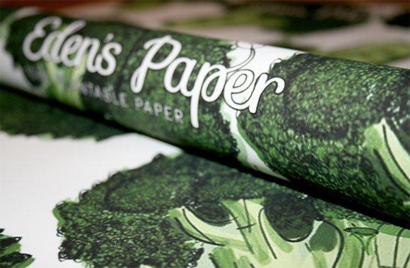 Verpackung mit Mehrwert: Samenpapier Eden's Paper