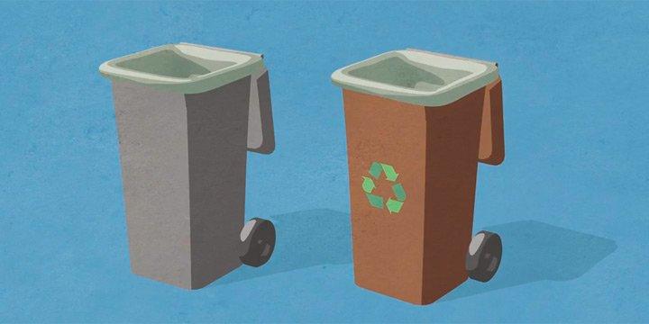 Bio-Abfallsäcke für saubere Mülltonnen