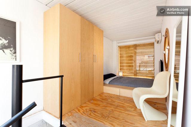 Das Schlafzimmer im Container-Haus © Balbina & Miquel Angel