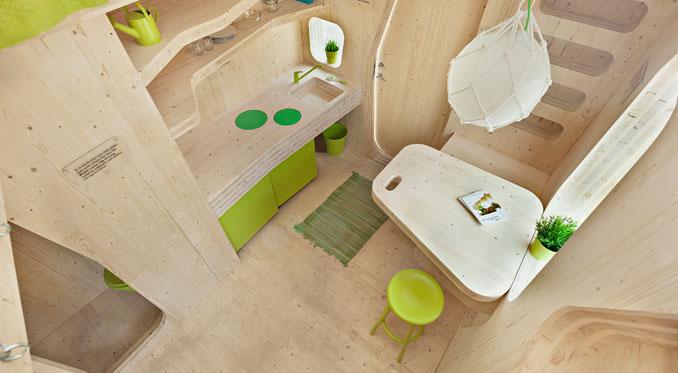Gemütlich mit allem drum und dran ©Tengbom Architects; Bertil Hertzberg