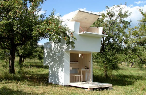 Minimalistischer Wohnraum als Rückzugsort:  Die Seelenkiste
