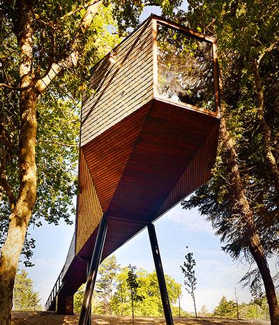 Das Baumhaus der Zukunft in Portugal