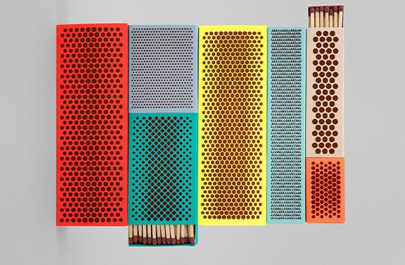 Streichholz reloaded: Neues Design für alte Schachtel für dänisches Designlabel Hay