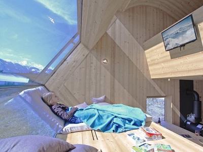 Ufogel Ferienhaus Panoramafenster