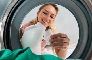 Umweltschonende Wäschepflege