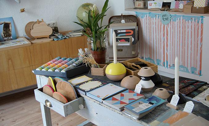 Eine feine Auswahl an nachhaltigen Produkten © Unser Onkel (Köln)