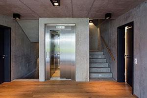 Wichtige tragende Elemente bieten einen super Kontrast auch wenn sie aus Beton sind © IBA Hamburg / Bernadette Grimmenstein
