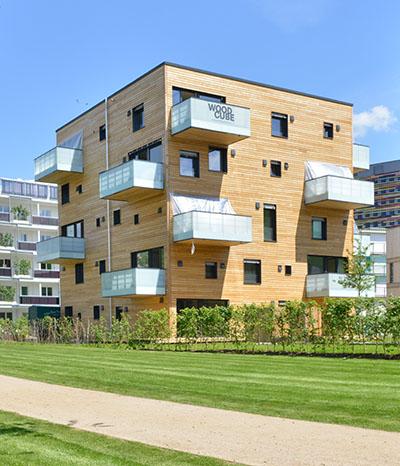 Baumhaus im baum leben und arbeiten home office von max for Minimalismus haus bauen