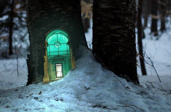 Hier wohnen Engel und Elfen