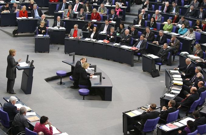 Bundestag Skandal Politik