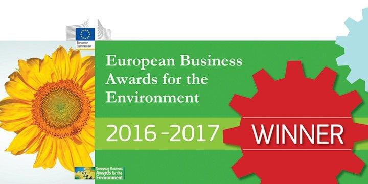 Wichtiger Umweltpreis für deutsches Unternehmen