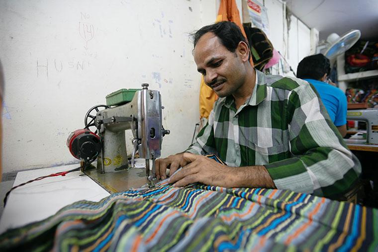Arbeitsbedingungen in Textilfabriken