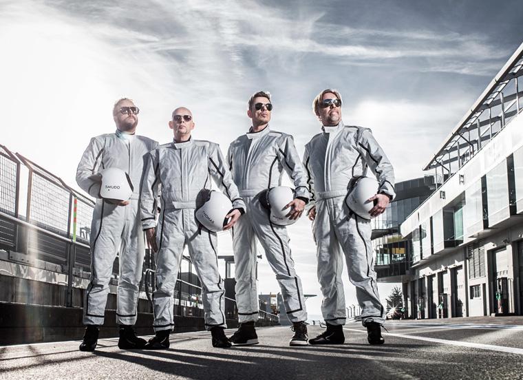 Fanta Vier Rennfahreranzug