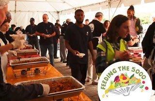 """""""Feeding the 5000"""" gegen Lebensmittelverschwendung"""