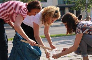Frühjahresputz Berlin: Mitmach - Aktionstag
