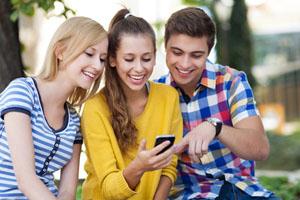 Handy-Jugendliche