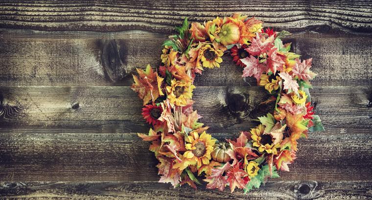 Natürliche Herbst Dekoration selbst gemacht