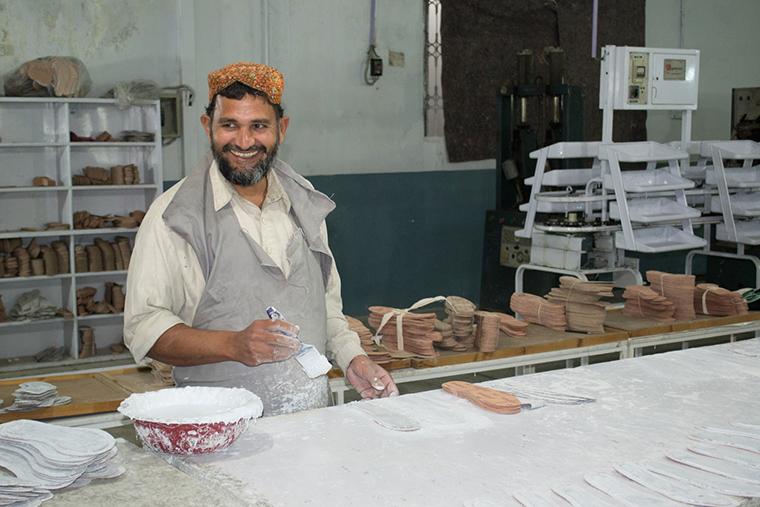 Nachhaltige Schuhproduktion in Indien