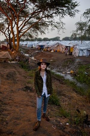 Keira Knightley ist mit Oxfam in den Südsudan gereist.© Abbie Trayler-Smith