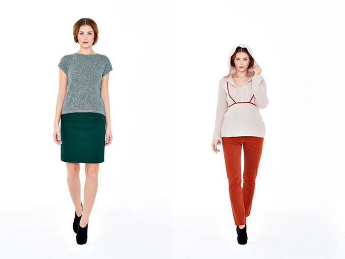 Shirt Amelie und Kapuzenpulli Pura 100% organic cotton vegan