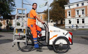Auch Handwerker und Bauarbeiter können prima ihre Werkzeue damit transportieren © Sebastian Hoff