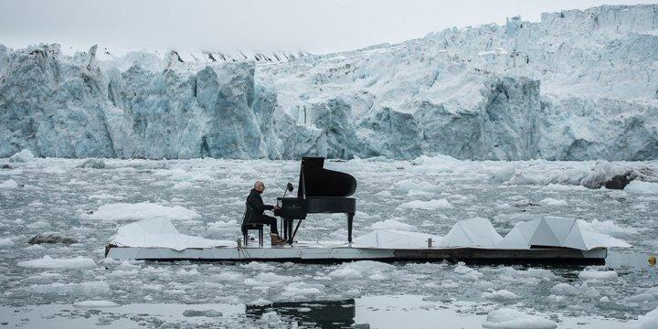 Klavierkonzert zum Schutz der Arktis