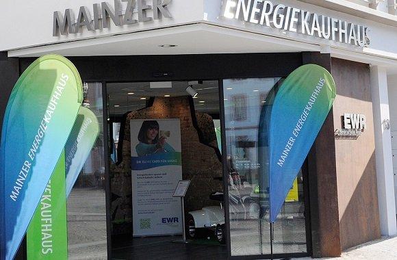 Mainz unter regionalem Strom: Mainzer Energiekaufhaus von EWR