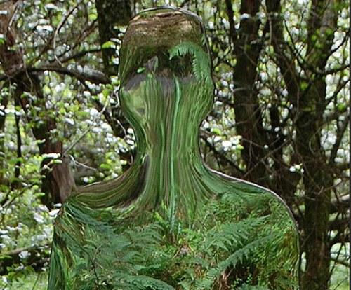 Nachhaltige Kunst: Rob Mulholland schafft Skulpturen, die Umwelt reflektieren.