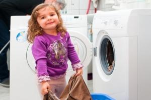 Wasser sparen beim Waschen