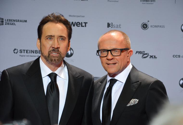 Nicolas Cage am deutschen Nachhaltigkeitstag