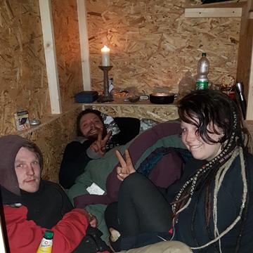 Little Home! Kölner baut Wohnboxen für Obdachlose