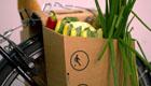 Packtasche: Pappe statt Plastik